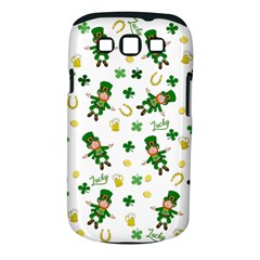 St Patricks Day Pattern Samsung Galaxy S Iii Classic Hardshell Case (pc+silicone)