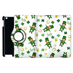 St Patricks Day Pattern Apple Ipad 2 Flip 360 Case