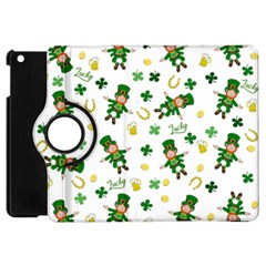 St Patricks Day Pattern Apple Ipad Mini Flip 360 Case