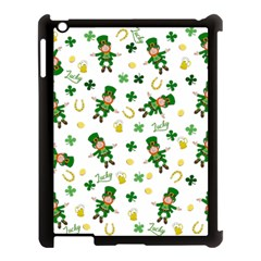 St Patricks Day Pattern Apple Ipad 3/4 Case (black)