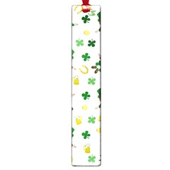 St Patricks Day Pattern Large Book Marks