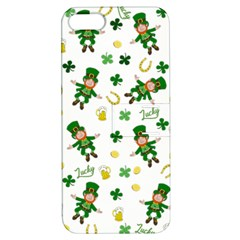 St Patricks Day Pattern Apple Iphone 5 Hardshell Case With Stand