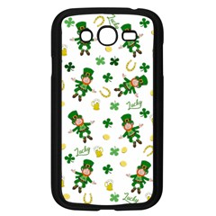 St Patricks Day Pattern Samsung Galaxy Grand Duos I9082 Case (black)