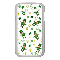 St Patricks Day Pattern Samsung Galaxy Grand Duos I9082 Case (white)