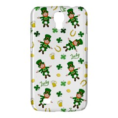 St Patricks Day Pattern Samsung Galaxy Mega 6 3  I9200 Hardshell Case
