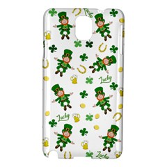 St Patricks Day Pattern Samsung Galaxy Note 3 N9005 Hardshell Case