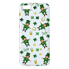 St Patricks Day Pattern Iphone 5s/ Se Premium Hardshell Case