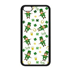 St Patricks Day Pattern Apple Iphone 5c Seamless Case (black)