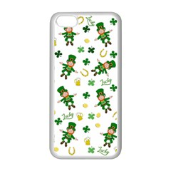 St Patricks Day Pattern Apple Iphone 5c Seamless Case (white)