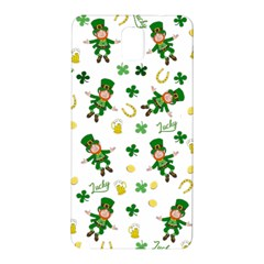 St Patricks Day Pattern Samsung Galaxy Note 3 N9005 Hardshell Back Case