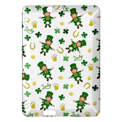 St Patricks Day Pattern Kindle Fire Hdx Hardshell Case