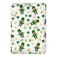 St Patricks Day Pattern Kindle Fire Hdx 8 9  Hardshell Case