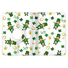 St Patricks Day Pattern Kindle Fire Hdx Flip 360 Case