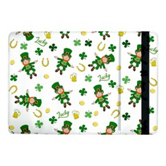 St Patricks Day Pattern Samsung Galaxy Tab Pro 10 1  Flip Case