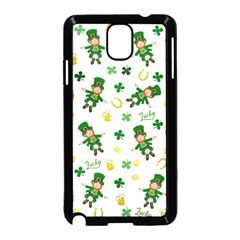St Patricks Day Pattern Samsung Galaxy Note 3 Neo Hardshell Case (black)