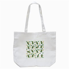 St Patricks Day Pattern Tote Bag (white)