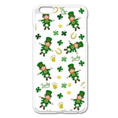 St Patricks Day Pattern Apple Iphone 6 Plus/6s Plus Enamel White Case