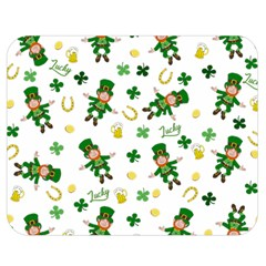 St Patricks Day Pattern Double Sided Flano Blanket (medium)