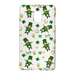 St Patricks Day Pattern Galaxy Note Edge