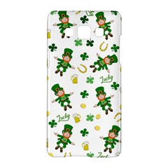 St Patricks Day Pattern Samsung Galaxy A5 Hardshell Case