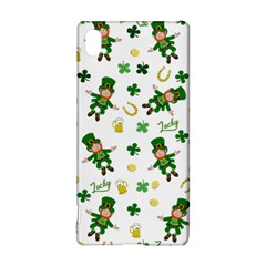 St Patricks Day Pattern Sony Xperia Z3+