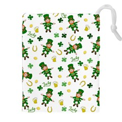 St Patricks Day Pattern Drawstring Pouches (xxl)