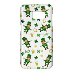 St Patricks Day Pattern Samsung Galaxy S7 Hardshell Case
