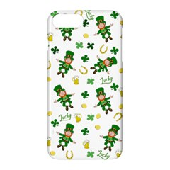St Patricks Day Pattern Apple Iphone 7 Plus Hardshell Case