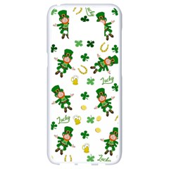 St Patricks Day Pattern Samsung Galaxy S8 White Seamless Case