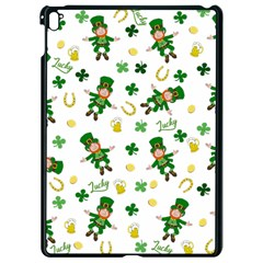 St Patricks Day Pattern Apple Ipad Pro 9 7   Black Seamless Case