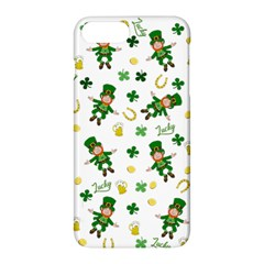 St Patricks Day Pattern Apple Iphone 8 Plus Hardshell Case