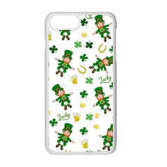 St Patricks Day Pattern Apple Iphone 8 Plus Seamless Case (white)