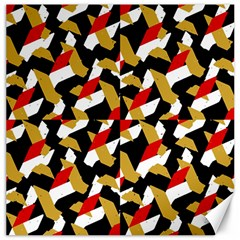 Colorful Abstract Pattern Canvas 16  X 16