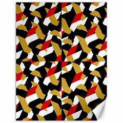 Colorful Abstract Pattern Canvas 18  X 24