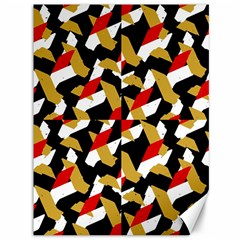 Colorful Abstract Pattern Canvas 36  X 48