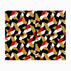 Colorful Abstract Pattern Small Glasses Cloth (2 Side)
