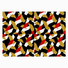 Colorful Abstract Pattern Large Glasses Cloth (2 Side)