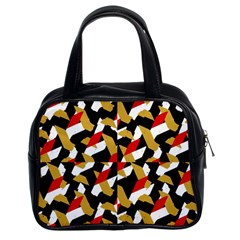 Colorful Abstract Pattern Classic Handbags (2 Sides)