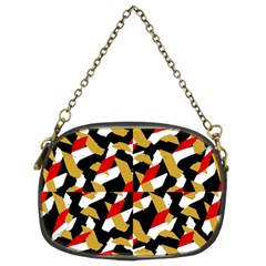 Colorful Abstract Pattern Chain Purses (two Sides)