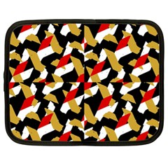 Colorful Abstract Pattern Netbook Case (xl)