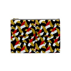 Colorful Abstract Pattern Cosmetic Bag (medium)