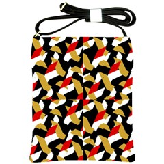 Colorful Abstract Pattern Shoulder Sling Bags