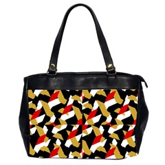 Colorful Abstract Pattern Office Handbags (2 Sides)