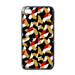 Colorful Abstract Pattern Apple Iphone 4 Case (black)