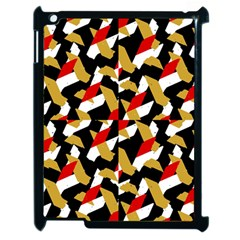 Colorful Abstract Pattern Apple Ipad 2 Case (black)