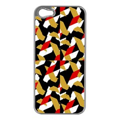 Colorful Abstract Pattern Apple Iphone 5 Case (silver)