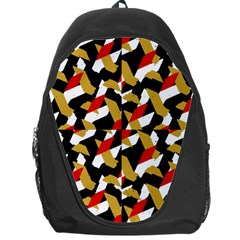Colorful Abstract Pattern Backpack Bag