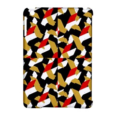 Colorful Abstract Pattern Apple Ipad Mini Hardshell Case (compatible With Smart Cover)