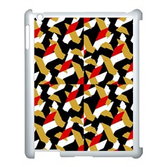 Colorful Abstract Pattern Apple Ipad 3/4 Case (white)