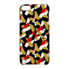 Colorful Abstract Pattern Apple Ipod Touch 5 Hardshell Case With Stand